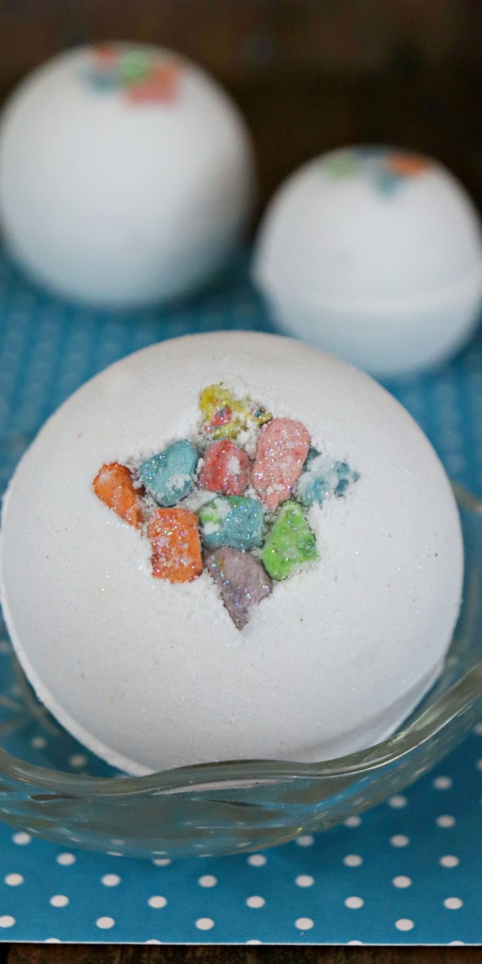 homemade marshmallow bath bombs
