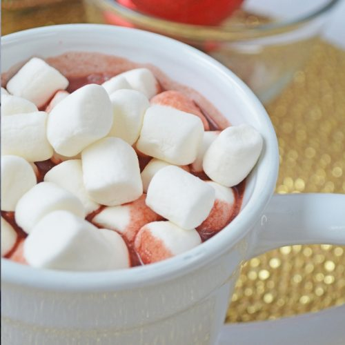 how to make red velvet hot chocolate