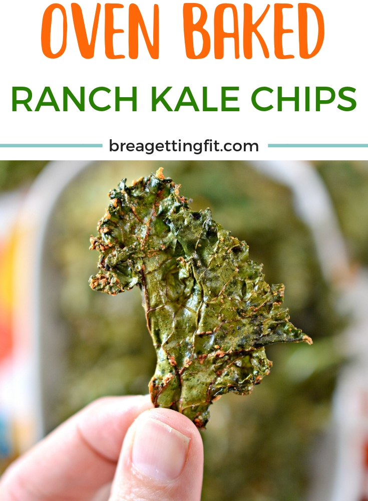 Crazy Good Ranch Kale Chips Recipe