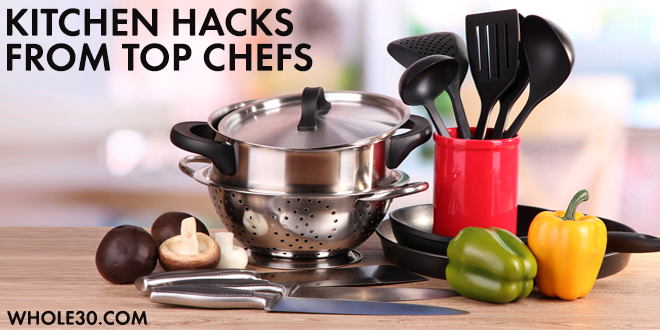 whole 30 kitchen hacks