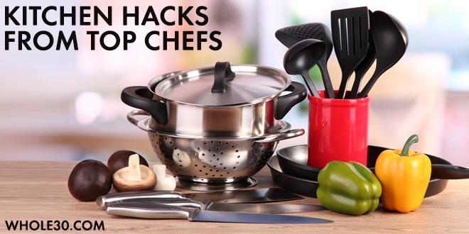 whole 30 kitchen hacks