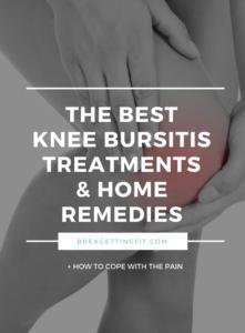 knee bursitis treatment home remedies
