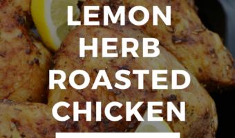 Instant Pot Lemon Herb Roasted Chicken