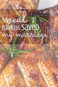 You really should consider meal planning. It's really a great tool! Join me later this month for a workshop!
