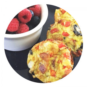 mexi-omelette cups