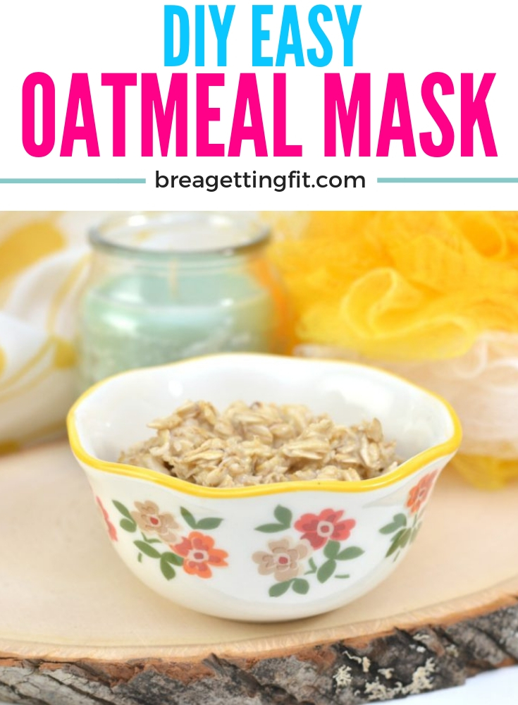 DIY Oatmeal Mask With Honey