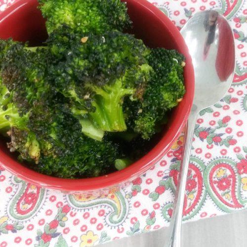 oven broiled broccoli recipe
