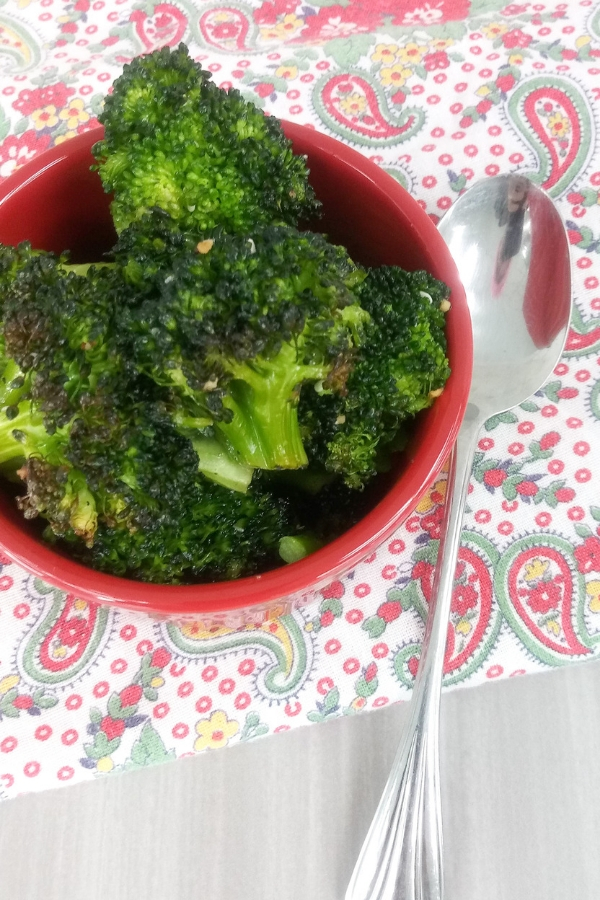 oven broiled broccoli recipe