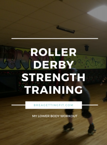 Awesome leg day roller derby strength training workout