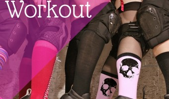 Amazing full body roller derby workout to lose weight