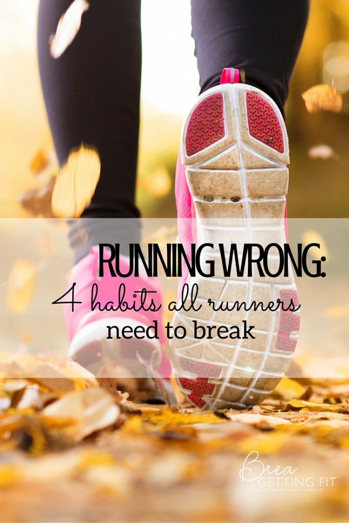 Are you running wrong?