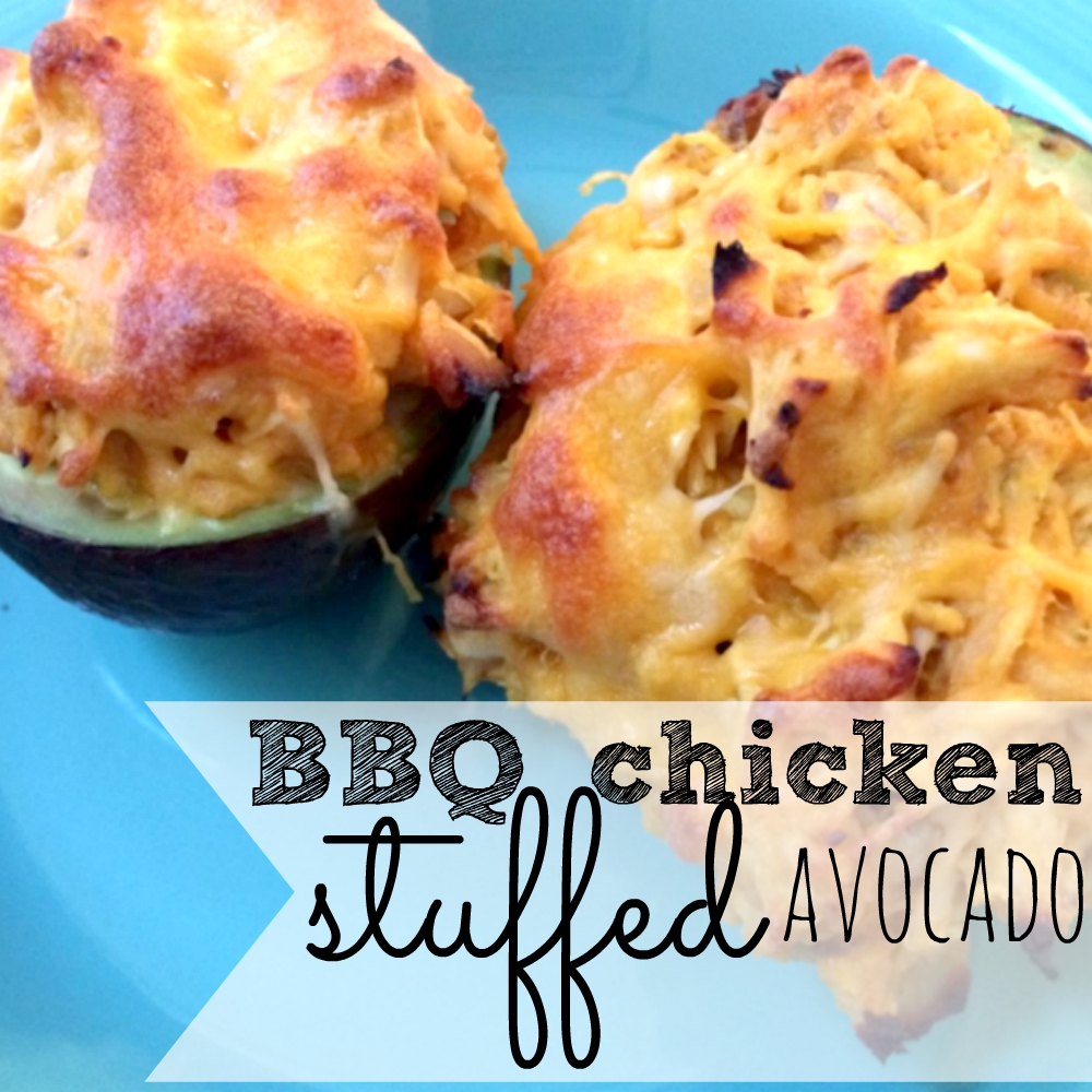 If you love avocados, you need to try these delicious BBQ chicken stuffed avos. Seriously.