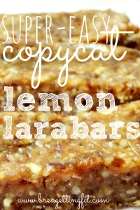 super easy copycat lemon larabar recipe