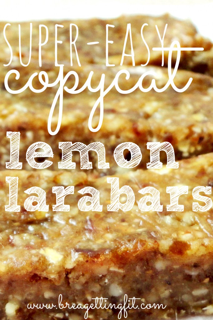 super easy copycat lemon larabar recipe