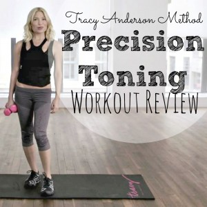 tam Tracy Anderson Precision Toning