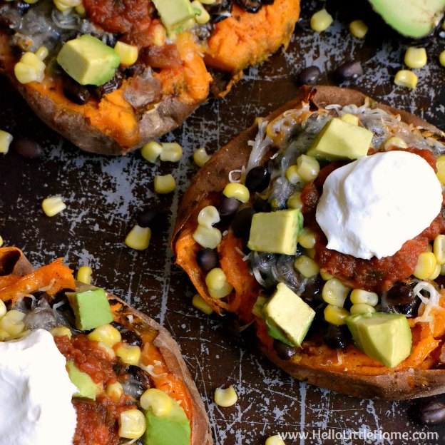Tex-Mex Stuffed Sweet Potatoes