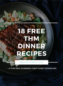 Free Trim Healthy Mama Dinner Recipes