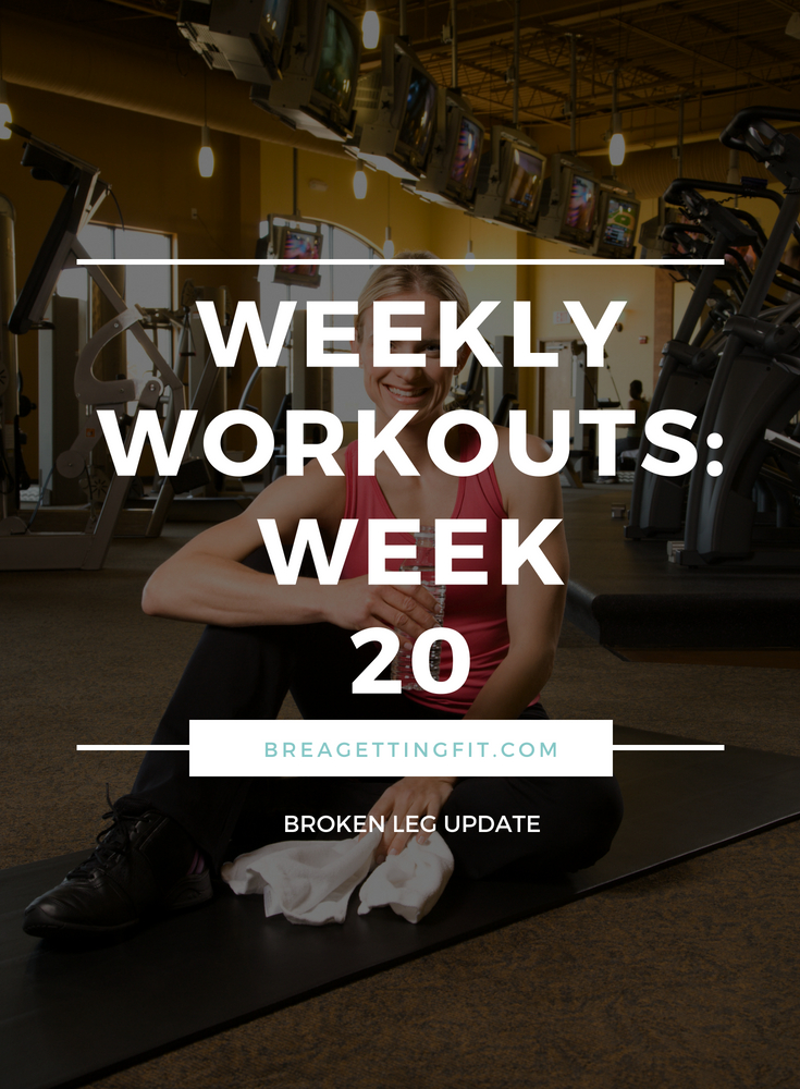 working out week 20