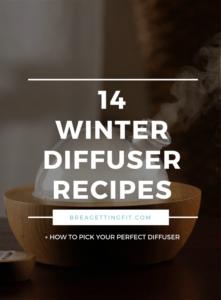 winter diffuser recipes