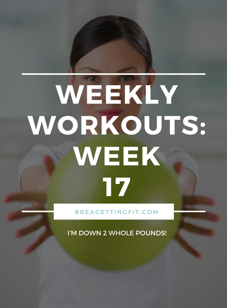 working out week 17