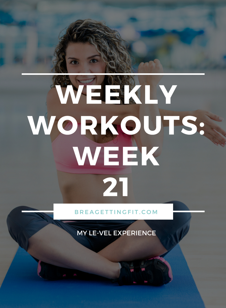 working out week 21