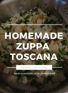 Quick & Easy Zuppa Toscana {Whole30}